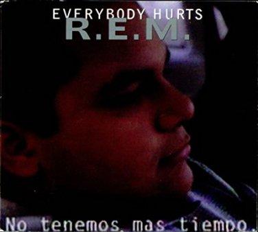R.E.M. - everybody hurts CD single 1993 warner 4 tracks used mint