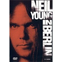 neil young - in berlin DVD 2000 rhino 60 minutes used mint