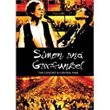 simon and garfunkel - concert in central park DVD 2003 20th century fox used mint