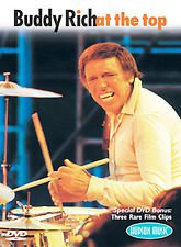 buddy rich - at the top DVD 2002 hudson music 87 minutes used mint