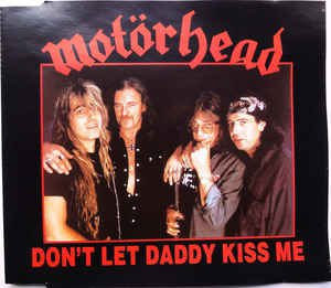 motorhead - don't let daddy kiss me CD ep 1993 zyx music 3 tracks used mint