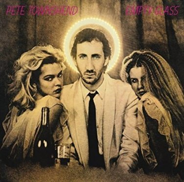 pete townshend - empty glass CD 1980 eel pie atlantic 10 tracks used mint