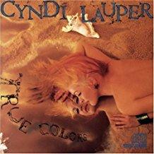 cyndi lauper - true colors CD 1986 portrait CBS 10 tracks used mint