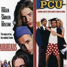 airheads + PCU DVD 2-discs 2008 20th century fox PG 13 used mint