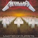 metallica - master of puppets CD 1986 blackened 8 tracks used mint