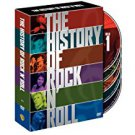 history of rock n roll DVD 5-discs 2004 time life warner region 1 not rated 578 mins used