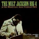 milt jackson big 4 - at the montreux jazz festival 1975 CD 1996 fantasy pablo 8 tracks used mint
