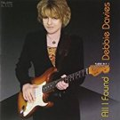debbie davies - all i found CD autographed 2005 telarc 11 tracks used mint