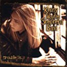 kenny wayne shepherd - trouble is ... HDCD 1997 revolution 12 tracks used mint