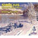 sibelius - complete piano music - annette servadei CD 5-discs 2007 musical concepts