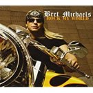 bret michaels - rock my wold CD 2008 B*M*B poor boy records VH! classic 12 tracks used mint