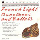french light overtures and ballets CD 1988 black pearl 7 tracks used mint