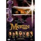 merlin - sam neill + helena honham carter DVD 1998 hallmark artisan 182 mins used mint