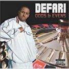 defari - odds & evens CD 2003 herut music high times records 16 tracks used mint