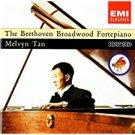 beethoven + melvyn tan - beethoven broadwood fortepiano CD 1992 thorn EMI 27 tracks used mint
