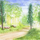 003 PRINT - Circle Park Road (Original not available)