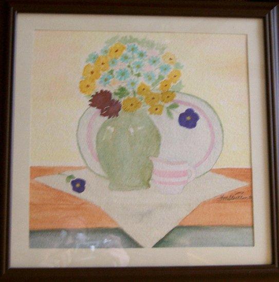 043 The Green Vase
