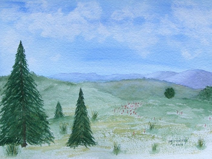 027 The Distant Hills