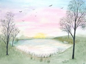 048 Morning Pond
