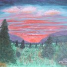 078 Radiant Sunset - SOLD