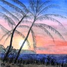091 Christmas Island Sunset