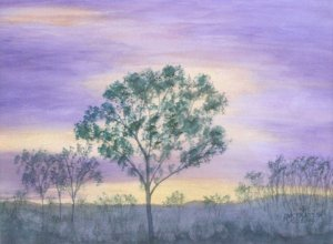 115 Purple Sunset - SOLD