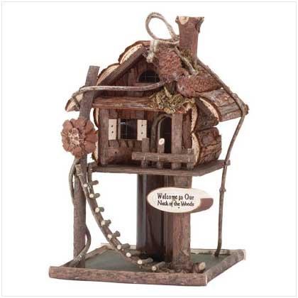 Treehouse Birdhouse - 32190