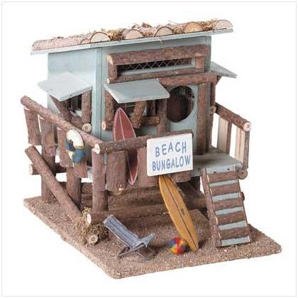 Beach Bungalow Birdhouse - 31247