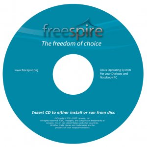 Freespire Linux 2.0.8 x86 CD