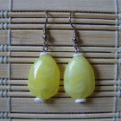 Lemon drop dangle earrings