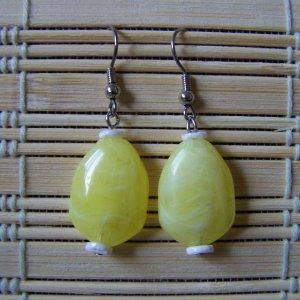 Lemon drop dangle earrings
