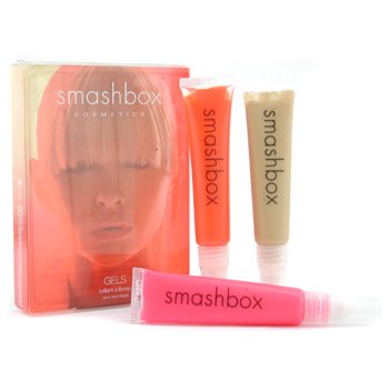 SMASHBOX- IN FLIGHT- GEL LIPGLOSS TRIO- 3 PC