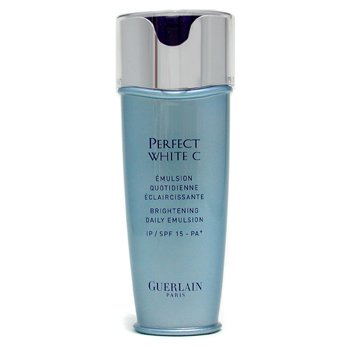 GUERLAIN- PERFECT WHITE C BRIGHTENING DAILY EMULSION- FOR AGE-SPOT REDUCTION & PREVENTION