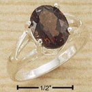 STERLING SILVER- SMOKEY QUARTZ RING **FREE SHIPPING ITEM**