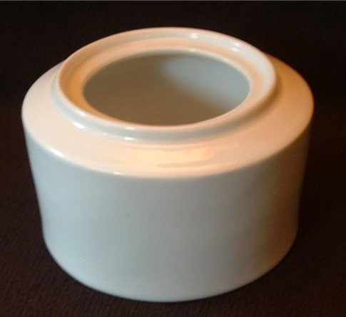 Prelude Sugar Bowl White Porcelain by Tienshan China no Lid 2.75 x 4 In