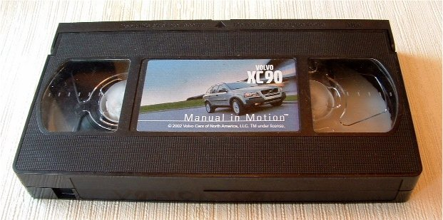 Volvo XC90 XC 90 Manual in Motion Video VHS (c) 2002