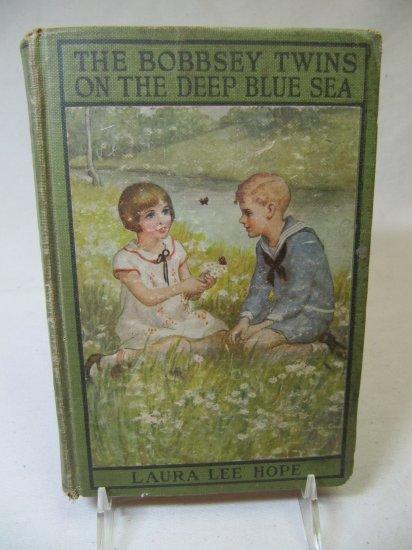 The Bobbsey Twins on the Deep Blue Sea by L.L. Hope (c) 1918 Hardback