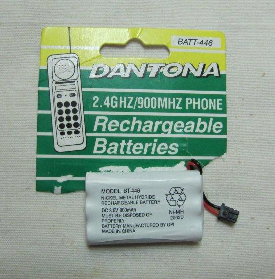 DANTONA 2.4GHZ 900MHZ NiMH Rechargeable Phone Battery BATT-446