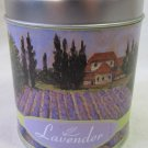 Dennis East Lavender Candle in Pretty Covered Tin 15 oz