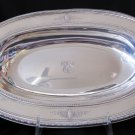 Antique Reed & Barton Sterling Silver Lg Oval Vegetable Bowl 13 In 750C