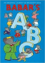 Babar's ABC, by Laurent De Brunhoff, Hardback Book EUC