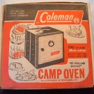 Vintage Collectible Coleman Camp Oven Box, Just the Box in EUC