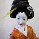 Vintage Japanese Geisha Doll 17 In Mint Condition