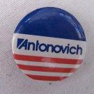 Vintage ANTONOVICH California Pinback Campaign Button 1.75 In