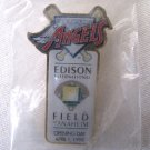 1998 Baseball Opening Day Pin Anaheim Angels Edison Field 1.875 In MINT