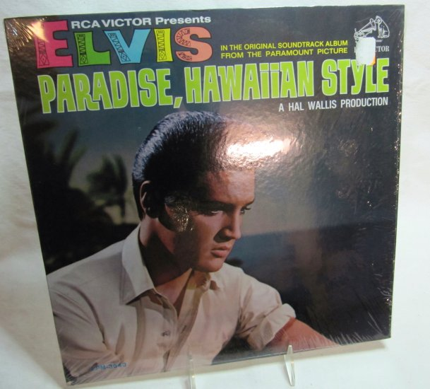 ELVIS PRESLEY Paradise Hawaiian Style LP Record Album RCA LPM-3643 Mono 1966 in Shrink