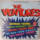 THE VENTURES Batman Theme Green Hornet 66 Secret Agent LP Record Album Dolton BST 8042 Stereo 1960s