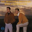 Righteous Brothers Soul and Inspiration LP Record Album Verve V-5001 1966 Open Shrink
