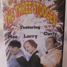 The Three Stooges Featuring Moe Larry Curly DVD 3 Episodes 75 Min with Case