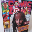 Disney COMIC ZONE Spring 2006 Issue Pirates Johnny Depp Magazine